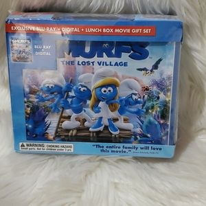 🌸5/$25 Smurfs The lost village lunchbox set